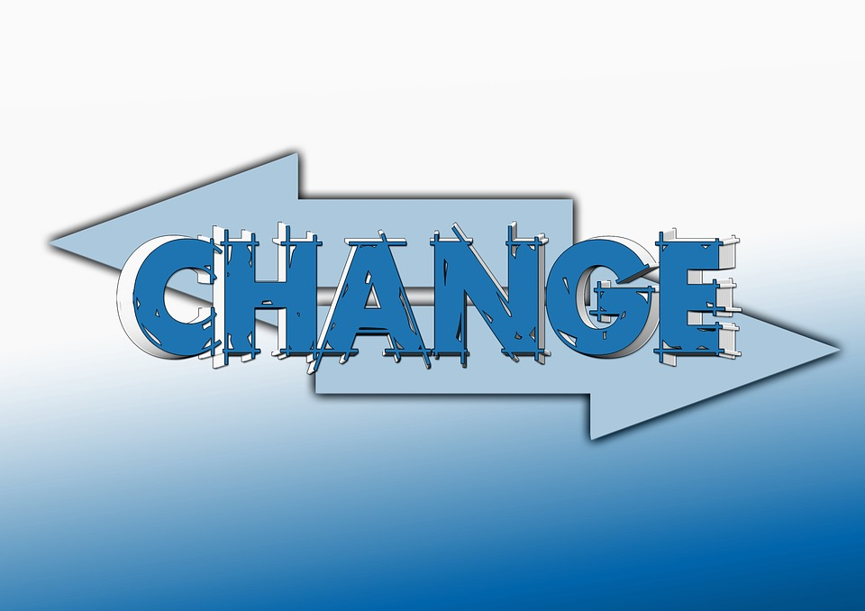 Förändring - i dessa miljöer används Scrum och andra agila metoder.