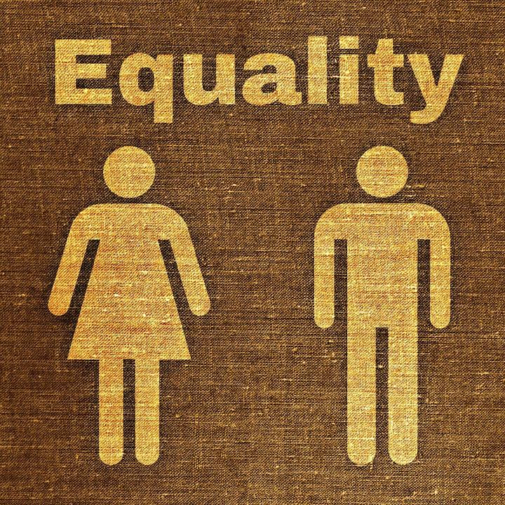 Jämställdhet fungerar inte vid rekrytering. Bild på en man och kvinna.