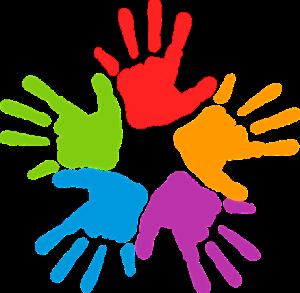 Jämställdhet vid rekrytering är svårt. Bild på händer med olika färger.