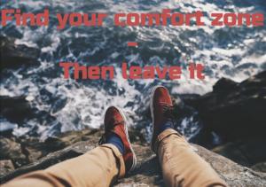 Comfort zone - våga lämna den och bli proffs på att mingla.