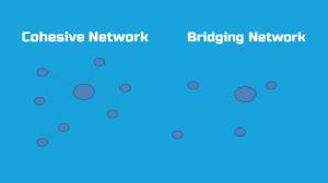 Två typer av nätverk